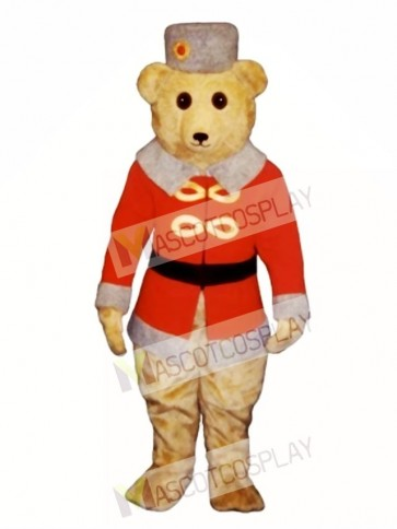 Cute Casimir Bearcovich Bear Mascot Costume