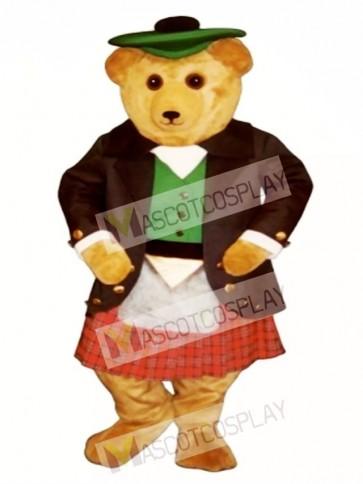 Argyle MacBear Bear Mascot Costume