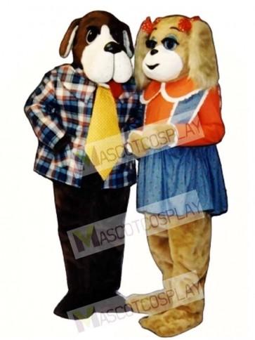 Cute Alfred Arf Dog Mascot Costume