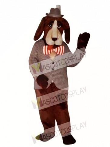 Cute shound dog Mascot Costume