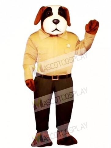 Cute Sheriff Snoop Dog Mascot Costume