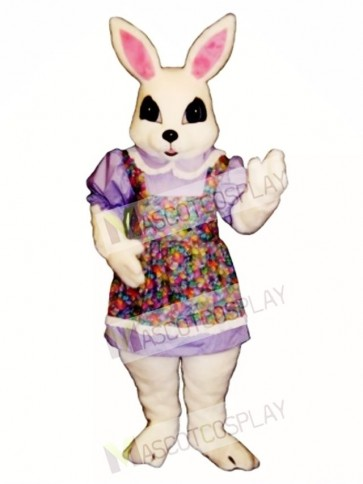 Cute New Easter Bethany Bunny Rabbit Mascot Costume