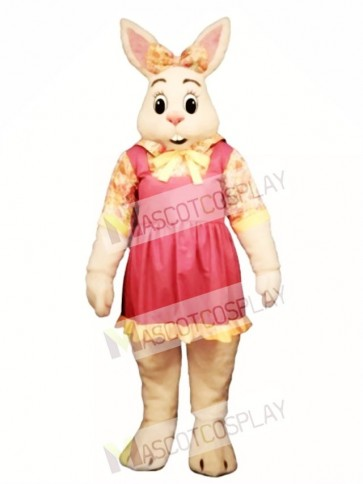 Cute Easter Alice Bunny Rabbit Mascot Costume