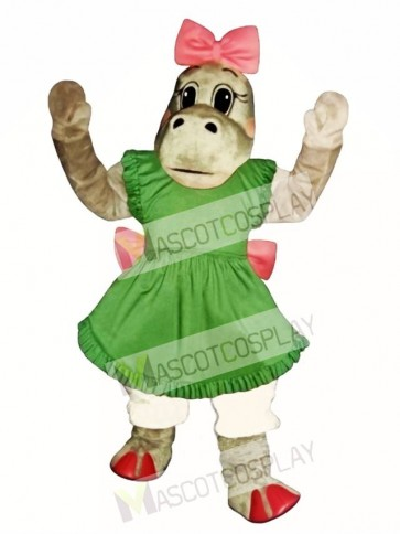 Patty Potamus Hippo Mascot Costume