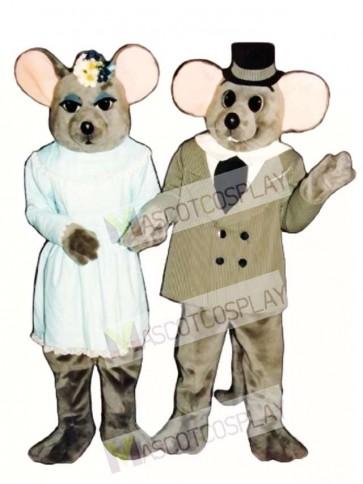 Miss Mouse Mascot Costume