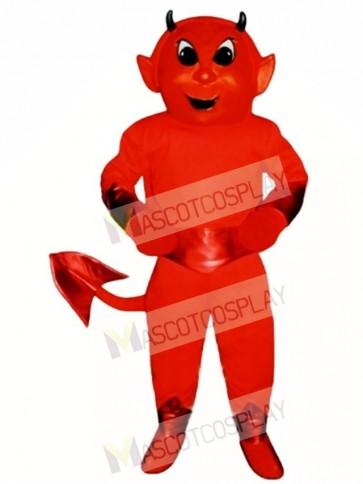 Cute Red Devil Mascot Costume