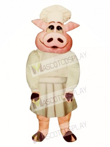 Baker Bacon Hog Mascot Costume