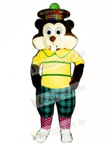 Golfing Gopher Mascot Costume