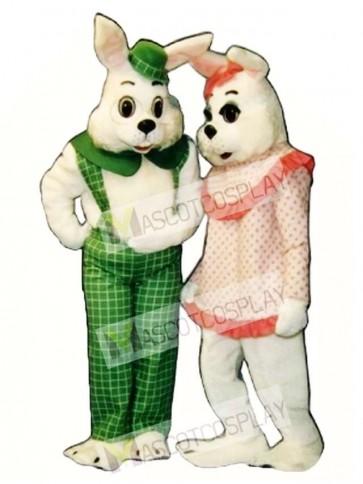 Easter Eggbert Bunny Rabbit Mascot Costume