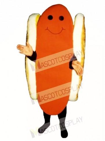 Dog with Bun Mascot Costume