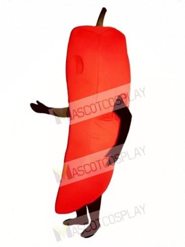 Chili Pepper Mascot Costume