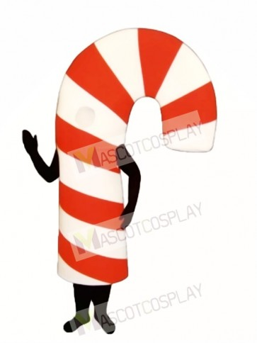 Candy Cane Mascot Costume
