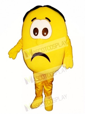 Sour Lemon Mascot Costume