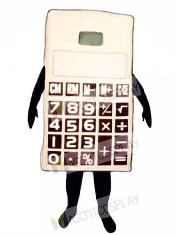 Calculator Mascot Costume