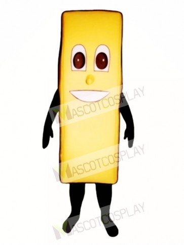 Fried Tater Mascot Costume