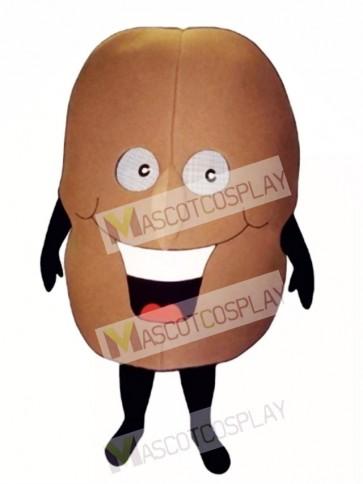 Coffee Bean Mascot Costume