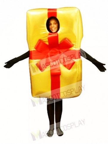 Christmas Gift Mascot Costume