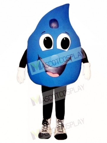 Water Drop Mascot Costume
