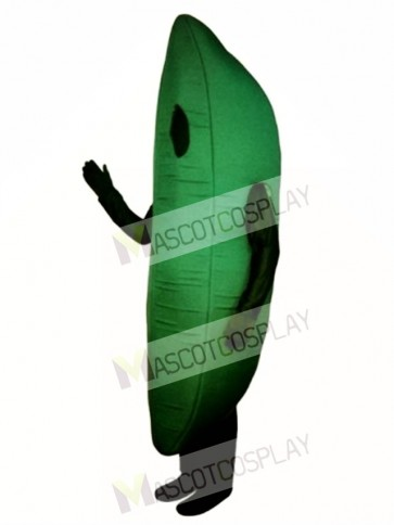 Green Bean Mascot Costume