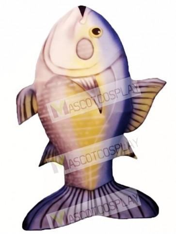 Tuna Fish Mascot Costume