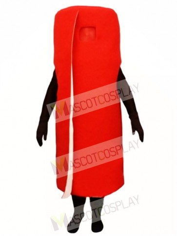 Rolled Red Carpet Mascot Costume