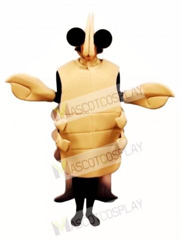 Tan Crayfish Mascot Costume