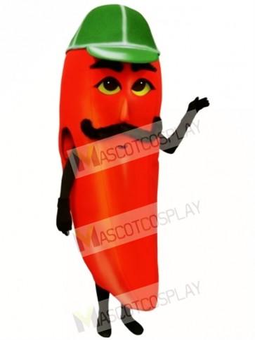 Hot Pepper Mascot Costume