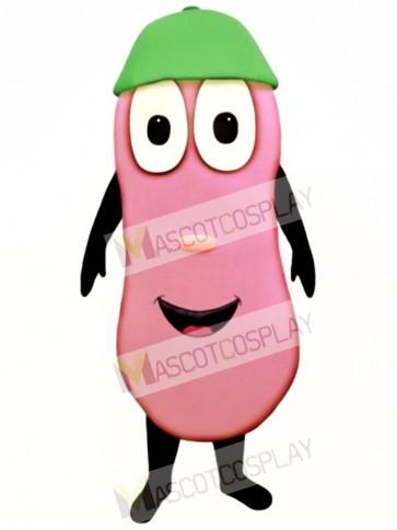 Jelly Bean with Beanie Mascot Costume