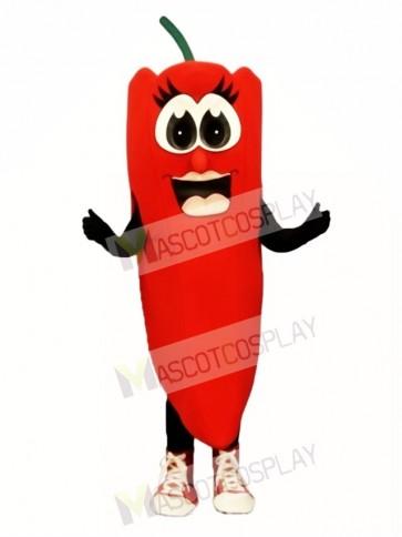 Ms Red Pepper Mascot Costume