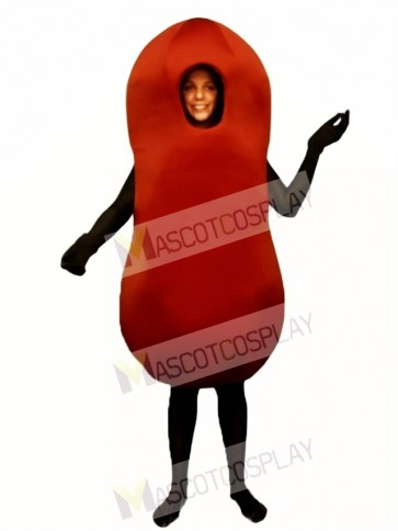 Kidney Bean Mascot Costume