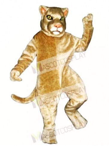 Cute Cougar Mascot Costume
