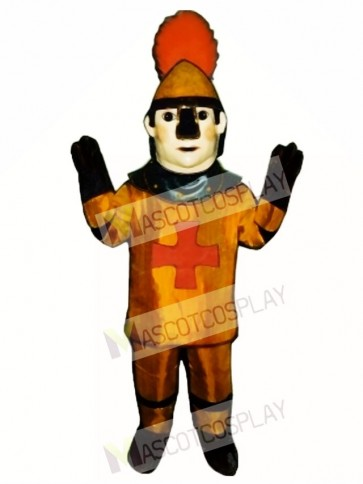 Golden Knight Mascot Costume