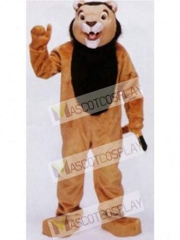 Deluxe Lion Mascot Costume