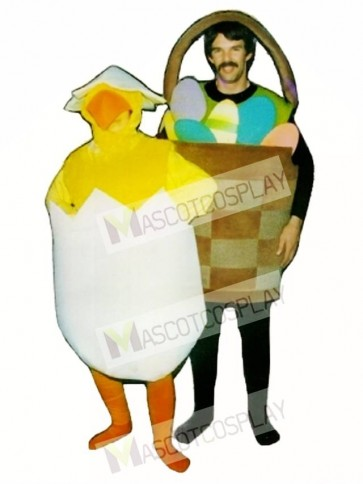 Basket of Eggs Mascot Costume