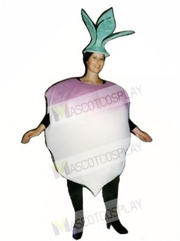 Turnip Mascot Costume