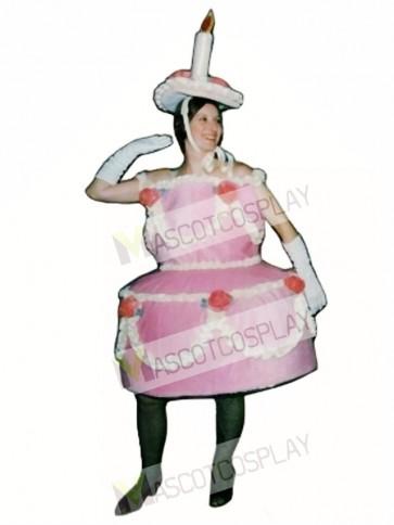 Birthday Cake Mascot Costume