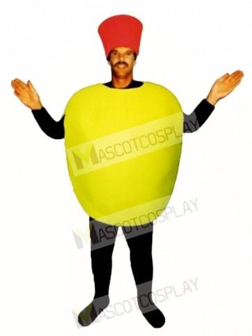 Stuffed Olive Mascot Costume