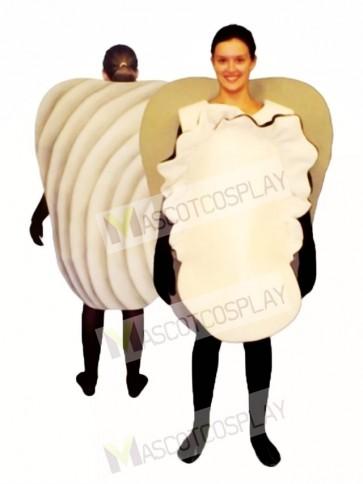 Clam Mascot Costume