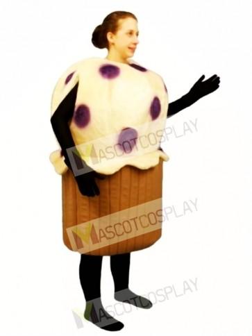 Blueberry Muffin Mascot Costume
