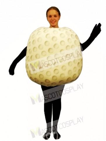 Gold Ball Mascot Costume
