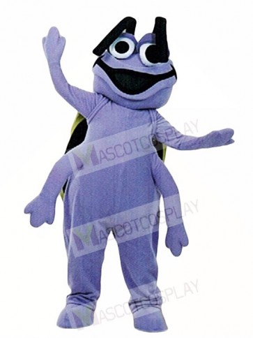 Purple Beetle Mascot Costumes Insect