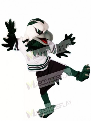 Green Eagle Falcon Mascot Costumes Animal