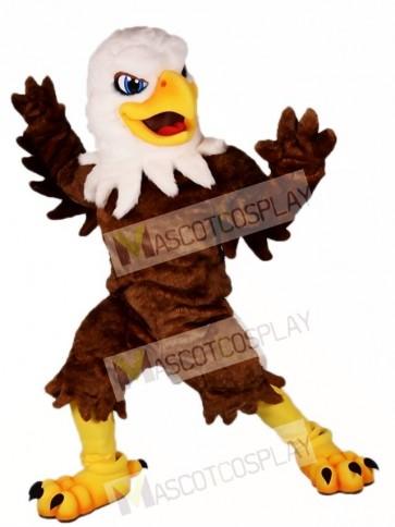 White Head Brown Eagle Mascot Costumes Falcon