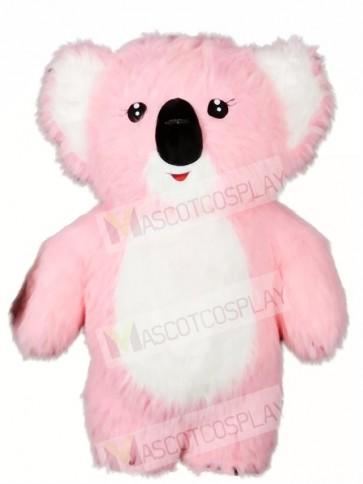 Pink Koala Bear Mascot Costumes Animal