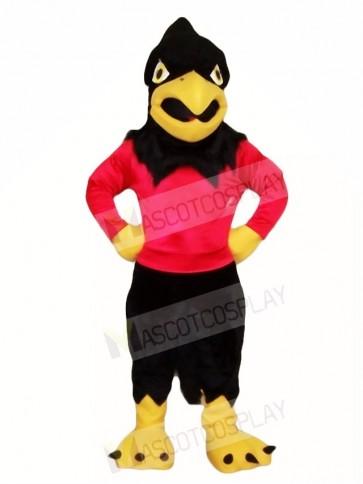 Black Falcon Eagle Mascot Costumes Bird Animal