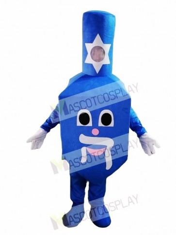 Cute Dreidel Mascot Costume