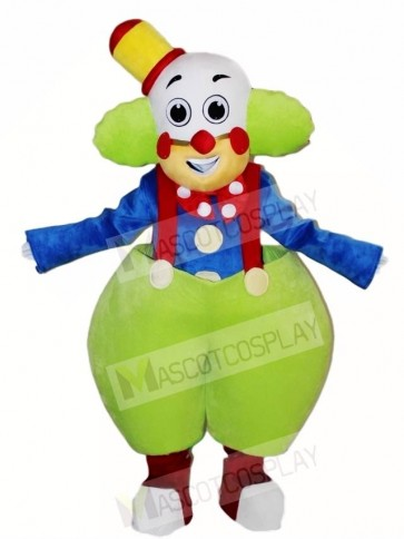 Clown Joker Mascot Costumes People Circus