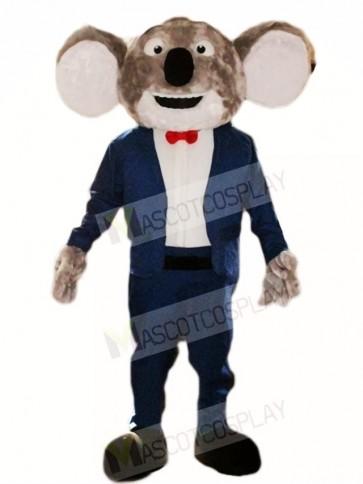 Blue Suit Koala Bear Mascot Costumes Animal