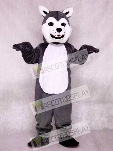 New Lovely Friendly Husky Dog Mascot Costumes Animal