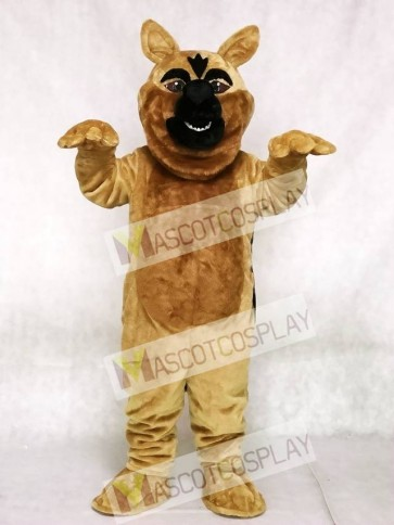 Fierce German Shepard Dog Mascot Costume
